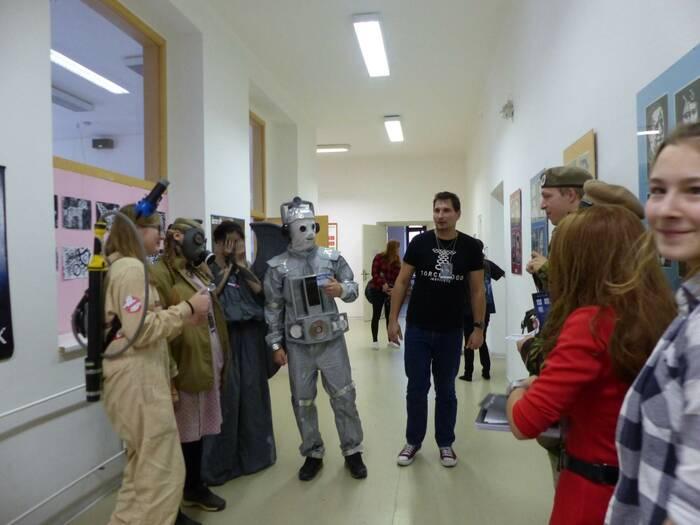 Oblíbený bod v programu byla i soutěž o nejlepší kostým. Foto: Kristýna Klazarová