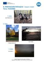 2. HNĚVČEVSKÁ FOTOVÝZVA - kategorie DOSPĚLÍ