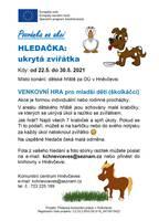 Venkovní hledačka pro rodiny: ukrytá zvířátka