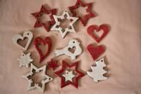 Keramické vánoční ozdoby