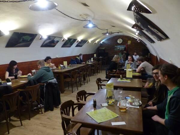 Priestory reštaurácie Vegalité. Foto: Maša Kalčoková