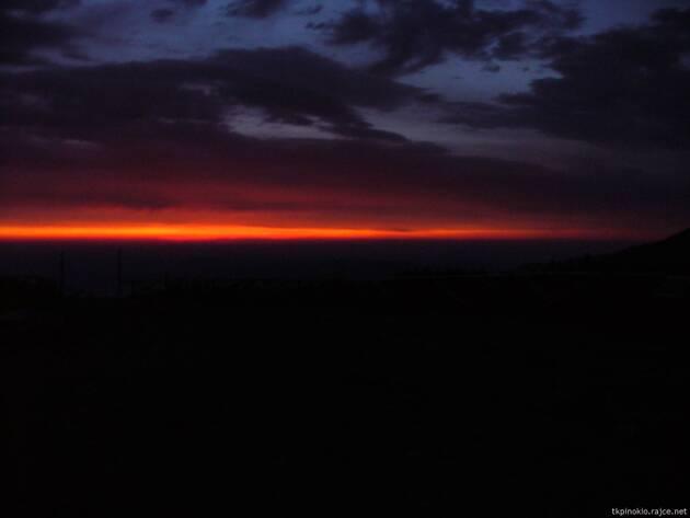 Začínající svítání