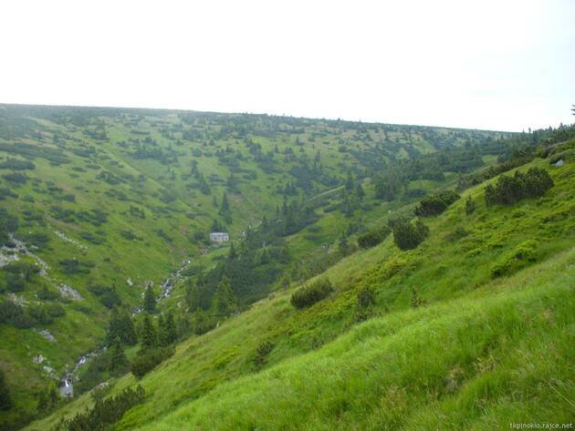 horní část údolí Bílého Labe