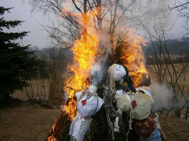 Projektový den - Mařeny si oheň vzal a jaro tu zanechal