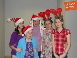 Domov pro seniory - Vánoční workshop 2010