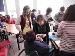 Domov pro seniory - Vánoční workshop 2011