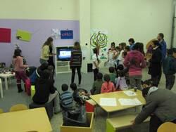 Nízkoprahovém centrum v Borku - Předávali jsme Naději 2012