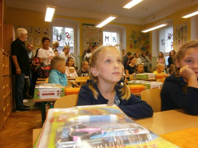 První den ve škole