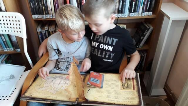 Návštěva místní knihovny