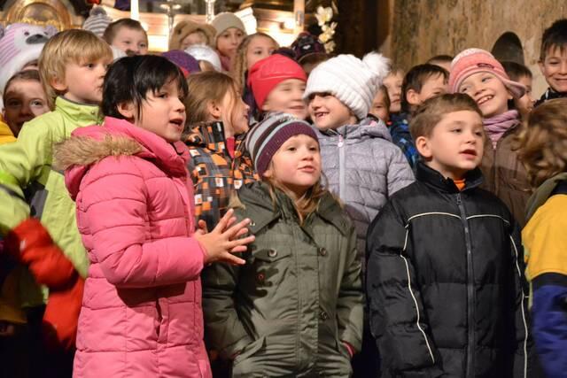 Advent v kostele