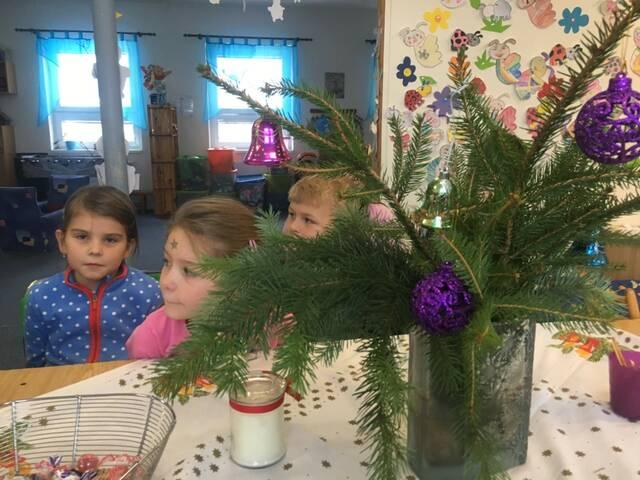 Vánoce dříve a dnes - projektový den 21. 12.